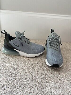 $63 • Buy Nike Air Max 270 Women's- Size 6- Blue/Grey And Black