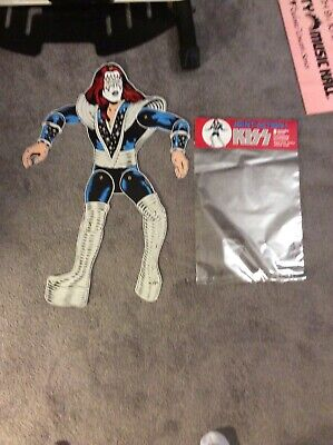 $299 • Buy KISS Joint Action Dolls Figures REPRO 1980 Simmons Frehley Stanley