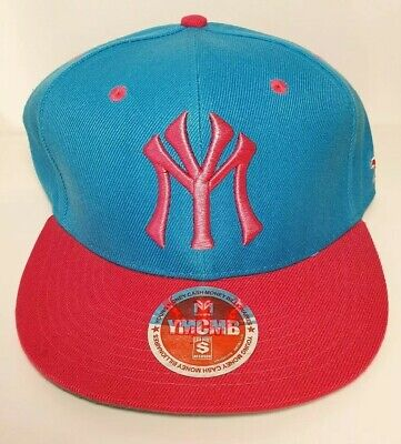 Unisex YMCMB Young Money Blue & Pink Snapback Cap Hat One Size New • 4.99£