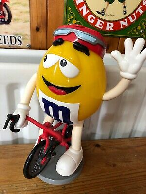 Collectors M&M Sweets Cycling Racing Bike Rider Dispenser Chocolate • 9.99£