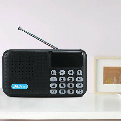 £24.39 • Buy DAB /DAB+ Digital Radio Portable With FM Rechargeable Battery Bluetooth Speaker.