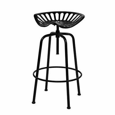 AU140.95 • Buy Artiss 1x Kitchen Bar Stools Tractor Stool Chairs Industrial Vintage Retro Swive