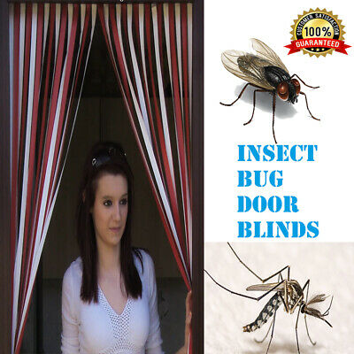 Plastic Strips Insect Control Mosquito Blinds Door Screen Protection Fly Sale Uk • 11.25£
