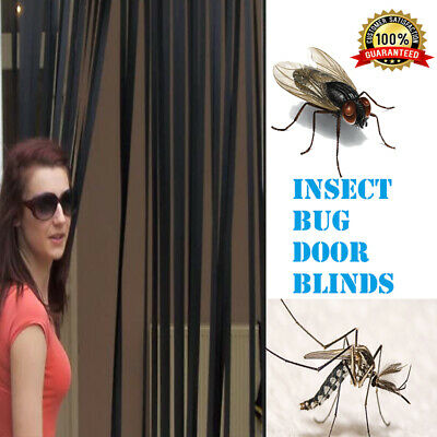 Plastic Strips Insect Control Mosquito Blinds Door Screen Protection Fly Sale Uk • 12.68£