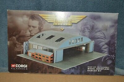 $9.95 • Buy Aircraft Hangar CORGI Classics Aviation Archive Can Be Used In 1/400 Scale