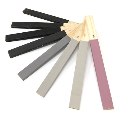 Emery Sticks X8 Rough To Fine Assorted Grits Jewellers Hobby Craft Sand Paper • 6.95£