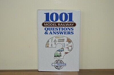 1001 Model Railway Questions And Answers - C J Freezer - H/B (PW) • 10£