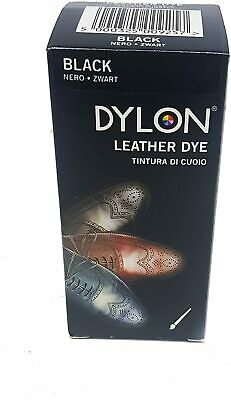 Dylon Leather Shoe Dye 50ml Black Noir For One Pair Of Shoes Fashion New UK • 8.99£