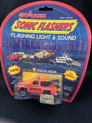 Majorette Sonic Flashers Die Cast Wreck Recovery Truck Series 2300 • 13.99£