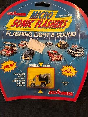 Majorette Sonic Flashers Die Cast Wreck Recovery Truck Series 1300 • 13.99£