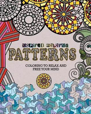 $12 • Buy NEW Adult Coloring Book Inspired Coloring Patterns Coloring To Relax.