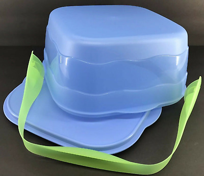 Tupperware Impressions Square Cake Taker / Cupcake Courier / Cookie Server New • 28.49£