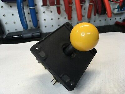 $14.90 • Buy 8-Way Joystick Arcade Game Joystick With Yellow WICO Ball Top Stick Joust