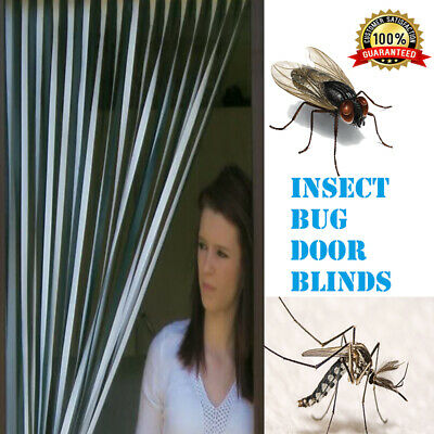 Plastic Strips Insect Control Mosquito Blinds Door Screen Protection Fly Sale Uk • 11.11£