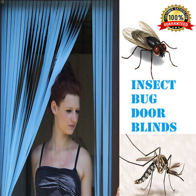 Plastic Strips Insect Control Mosquito Blinds Door Screen Protection Fly Sale Uk • 9.99£