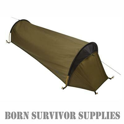Trekmates SQUALL BIVI BAG Twin Hooped 1-Man Tent Waterproof Shelter Bivvy Basha • 89.99£