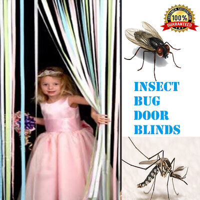 Plastic Strips Insect Control Mosquito Blinds Door Screen Protection Fly Sale Uk • 13.57£