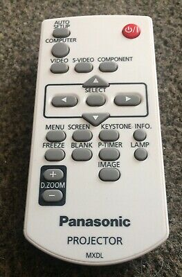 Panasonic MXDL Projector Remote Control FREE P&P • 10.59£