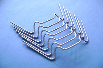 Greenhouse Glazing Clips W + Z  Glass  Clips Spring Wire Choose From 20 To 500  • 3.80£