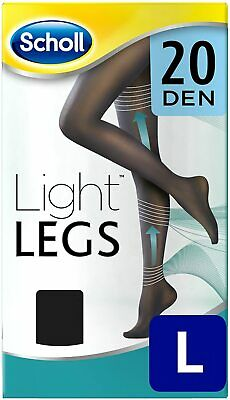 £4.99 • Buy Scholl Light Legs Compression Tights 20 Den - Pick Colour