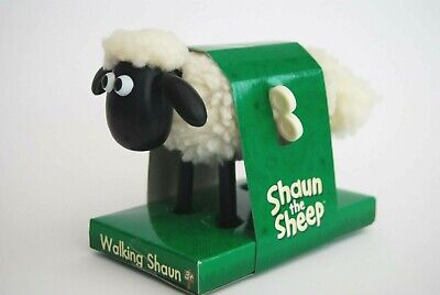 Shaun The Sheep WIND UP Walking Toy 11cm AARDMAN 2006 Brand New Mint Condition • 12.50£