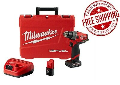 Milwaukee 2503-22 M12 1/2 In. Drill Driver W/2 Batteries Kit FREE SHIPPING! NEW! • 157.35£