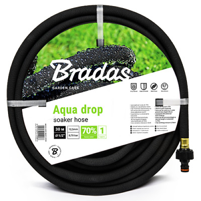 Porous Pipe/ Soaker Hose/ Leaky Pipe - All Sizes Up To 200m // FAST UK DESPATCH • 13.70£