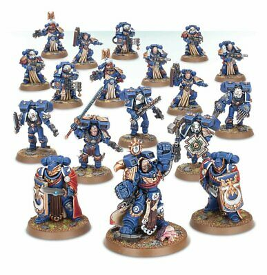 AU1626.98 • Buy Marneus Calgar's Indomitus Crusaders Painted Figure Warhammer 40k Pre-Sale | Art