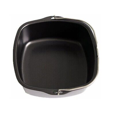 AU27.34 • Buy 1 Pc Air Fryer Accessories Black Basket Baking Barbecue Pan For Philips HD9232