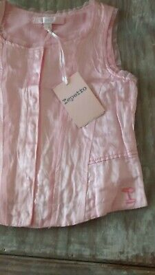 Marese Designer BNWT Girls Repetto Pink Chemise Top 6yrs 114cms Rrp£29.99 • 14.99£
