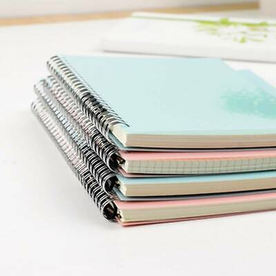 AU13.71 • Buy B5 Spiral Book Coil Notebook Blank Grid Paper Journal Diary Sketchbook Notepad L