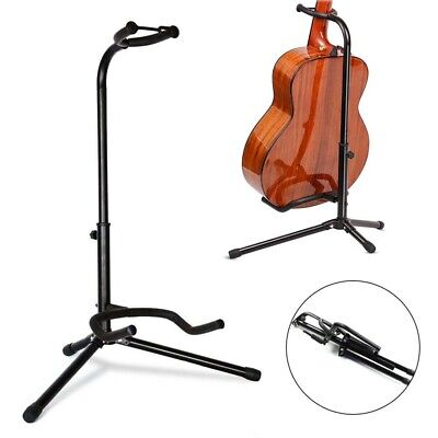 $ CDN13.73 • Buy Telescopic Guitar Stand Acoustic/electric/bass Adjustable Folding Tripod Stand