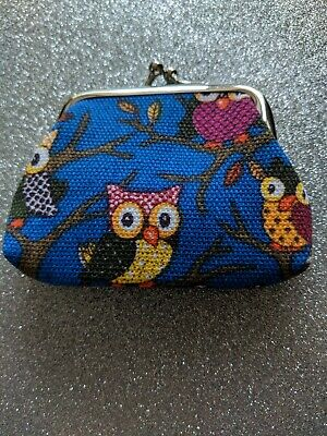 Pretty Owl Small Wallet Holder Coin Note Purse Clutch Christmas Birthday Gift • 1.20£