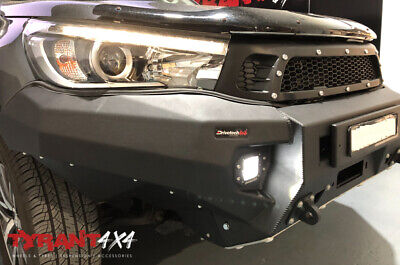 AU3600 • Buy Rival Bull Bar & Synthetic Electric Winch To Suit Toyota Hilux N80 2016+ TRD SR5