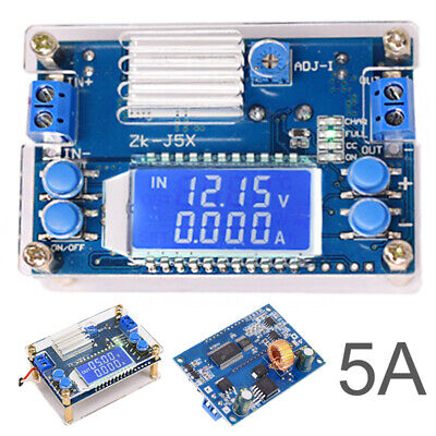 5A DC-DC Step-down Power Supply Converter Adjustable Module With LCD Display .UK • 7.79£