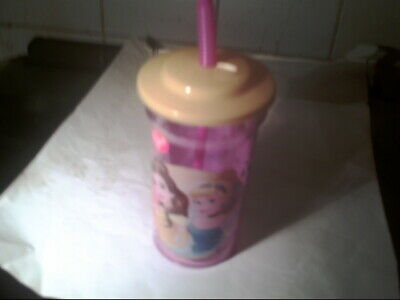 £2.90 • Buy Plastic Cup With Straw Little Mermaid