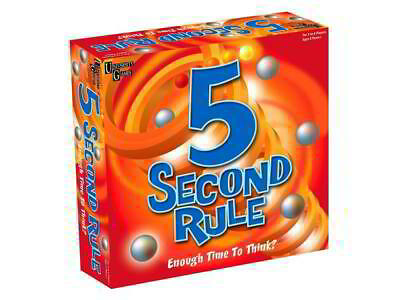 AU25.95 • Buy 5 Second Rule Board Game Five Second Game BRAND NEW