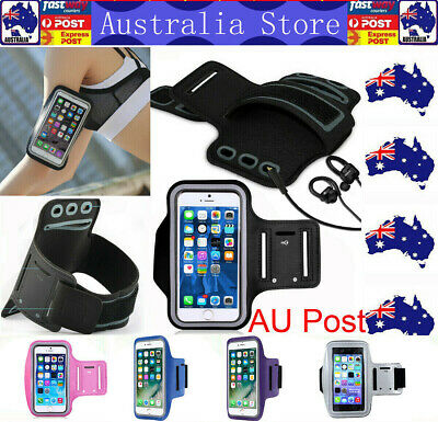 AU7.99 • Buy Run Sport Armband Jog Jogging GYM Skin Exercise Case Holder Cover For Cell Phone