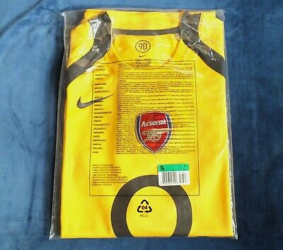 BNWT Arsenal Season 2005-06 Highbury Final Salute Player Issue Training Shirt XL • 39.99£