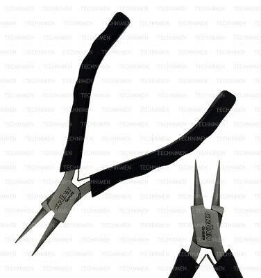 German Chain Snipe Nose Beading Smooth Jaws Jewellers Jewelry Watch Model Pliers • 9.99£