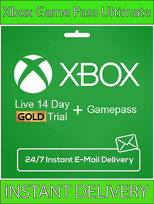 $ CDN2.57 • Buy Xbox Live Gold Xbox Game PASS Ultimate 14 Day 2 Weeks - Instant Delivery 24/7