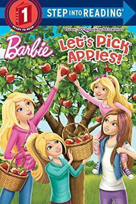 Lets Pick Apples! (Barbie) (Step Into Reading) • 8.86£