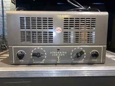 $ CDN966.71 • Buy Stromberg-Carlson AU-36 Vintage Tube Amplifier Head Serviced & Ready