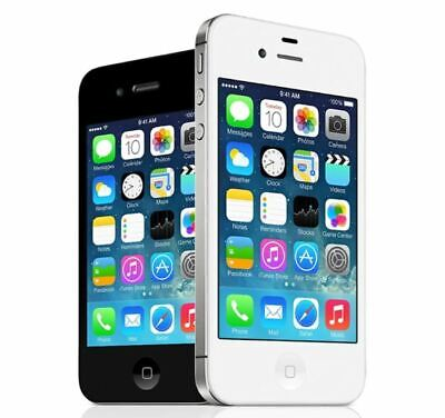AU49 • Buy APPLE IPHONE 4S 8GB 16GB 32GB 64GB BLACK WHITE UNLOCKED IN BOX WITH ACCESSORIES