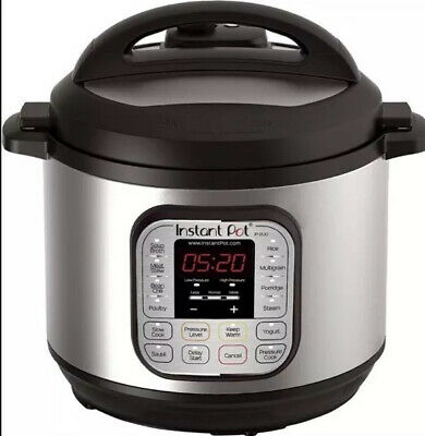 $149.99 • Buy Instant Pot Duo 80 7-in-1 Electric Pressure Cooker 8 Quart Stainless Steel V2