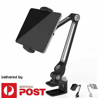 AU54.99 • Buy Tablet Holder For IPad Pro 1 2 3 4 Mini Clamp With Adjustable Arm Desk Bed Mount