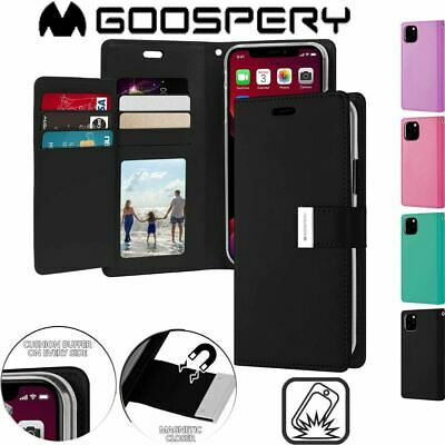 AU11.99 • Buy For IPhone 11 Pro Max Cover Flip X Xr Xs Max Wallet Case Card Shockproof Bumper