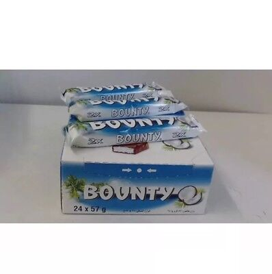 Bounty Chocolate Full Box Of 24 Bars  Best Offer Cheapest In EBay Stock Clear. • 13.99£