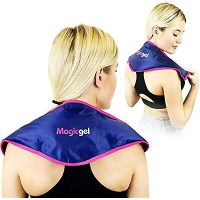 Neck Ice Pack Wrap Pain Relief Product Stiff Upper Back Tension Treatment NEW • 14.99£