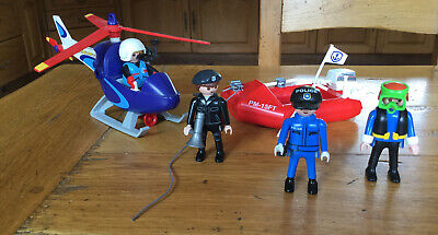 Playmobil 4423 Press Helicopter / TVI News Press Microcopter + Figure • 4.90£